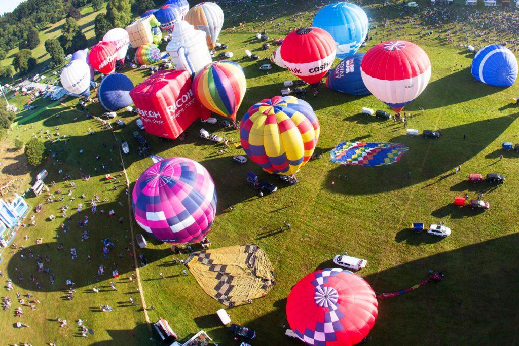 bristol balloon camping